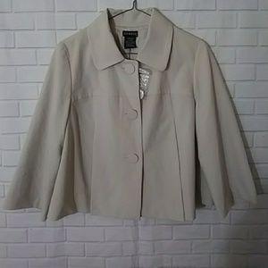 George tan Blazer jacket 10